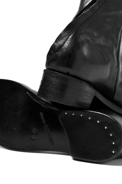 LEON EMANUEL BLANCK DISTORTION COMBAT BOOT / GUIDI HORSE LEATHER