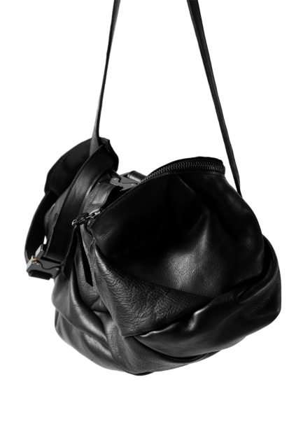 LEON EMANUEL BLANCK exclusive DISTORTION SMALL WEEKENDER BAG  / GUIDI HORSE LEATHER