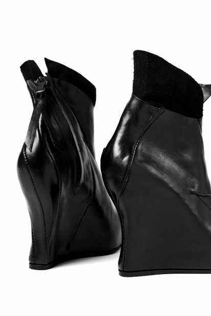 LEON EMANUEL BLANCK WOMENS // DISTORTION WEDGE / GUIDI HORSE LEATHER