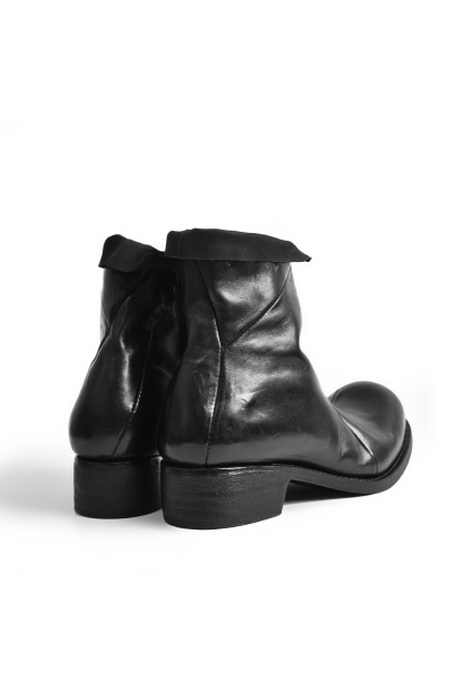 LEON EMANUEL BLANCK DISTORTION ANKLE BOOT / GUIDI HORSE OILED