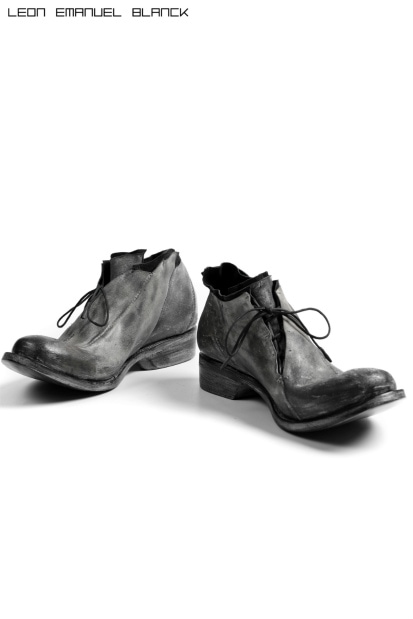 LEON EMANUEL BLANCK DISTORTION CURVED DERBY / GUIDI REVERSED WAX HORSE