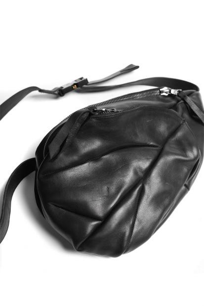 LEON EMANUEL BLANCK DISTORTION MEDIUM DEALER BAG / GUIDI OILED HORSE LEATHER