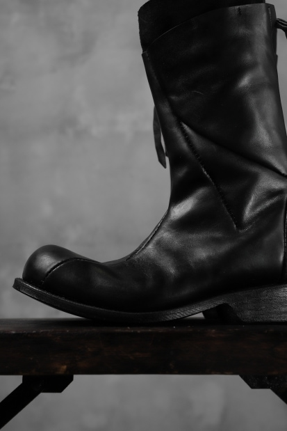 LEON EMANUEL BLANCK DISTORTION TALL BOOT / GUIDI OILED HORSE