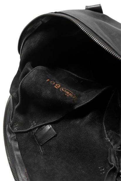 LEON EMANUEL BLANCK exclusive DISTORTION SMALL WEEKENDER BAG  / GUIDI OILED HORSE LEATHER