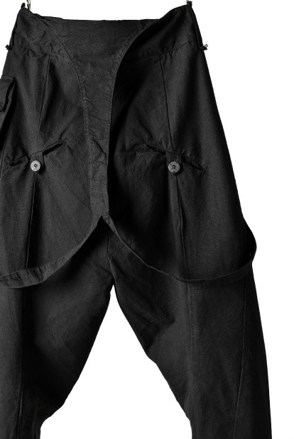 Marc Point Cargo Pocket Trousers with Suspender Detail