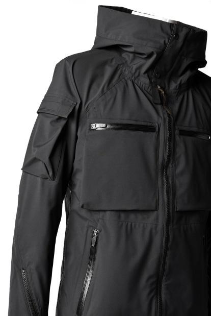 N/07 schoeller Pro-Tech System Hoodie Jacket / Khaki Grosgrain