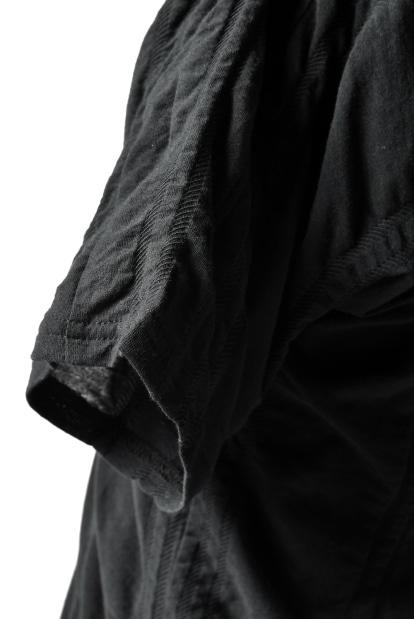 nude:masahiko maruyama SLASH FORMED CUTSEWN / Tuck Jacquard Jersey