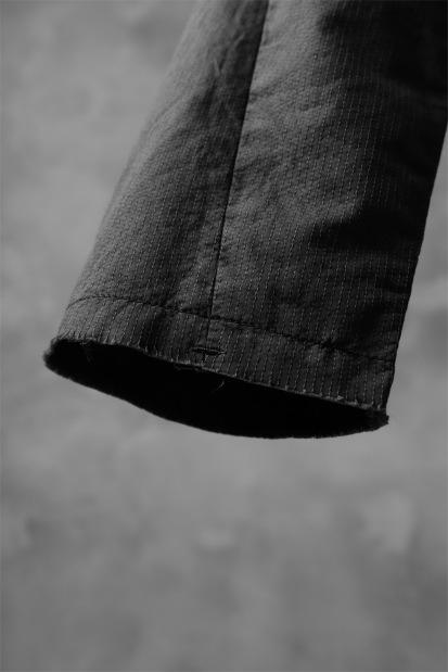 nude:masahiko maruyama SLIM EASY PANTS / PIGMENT DYED