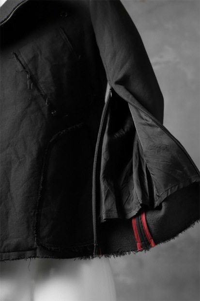 nude:masahiko maruyama RIDERS JACKET / COTTON WOOL DOUBLE WEAVE