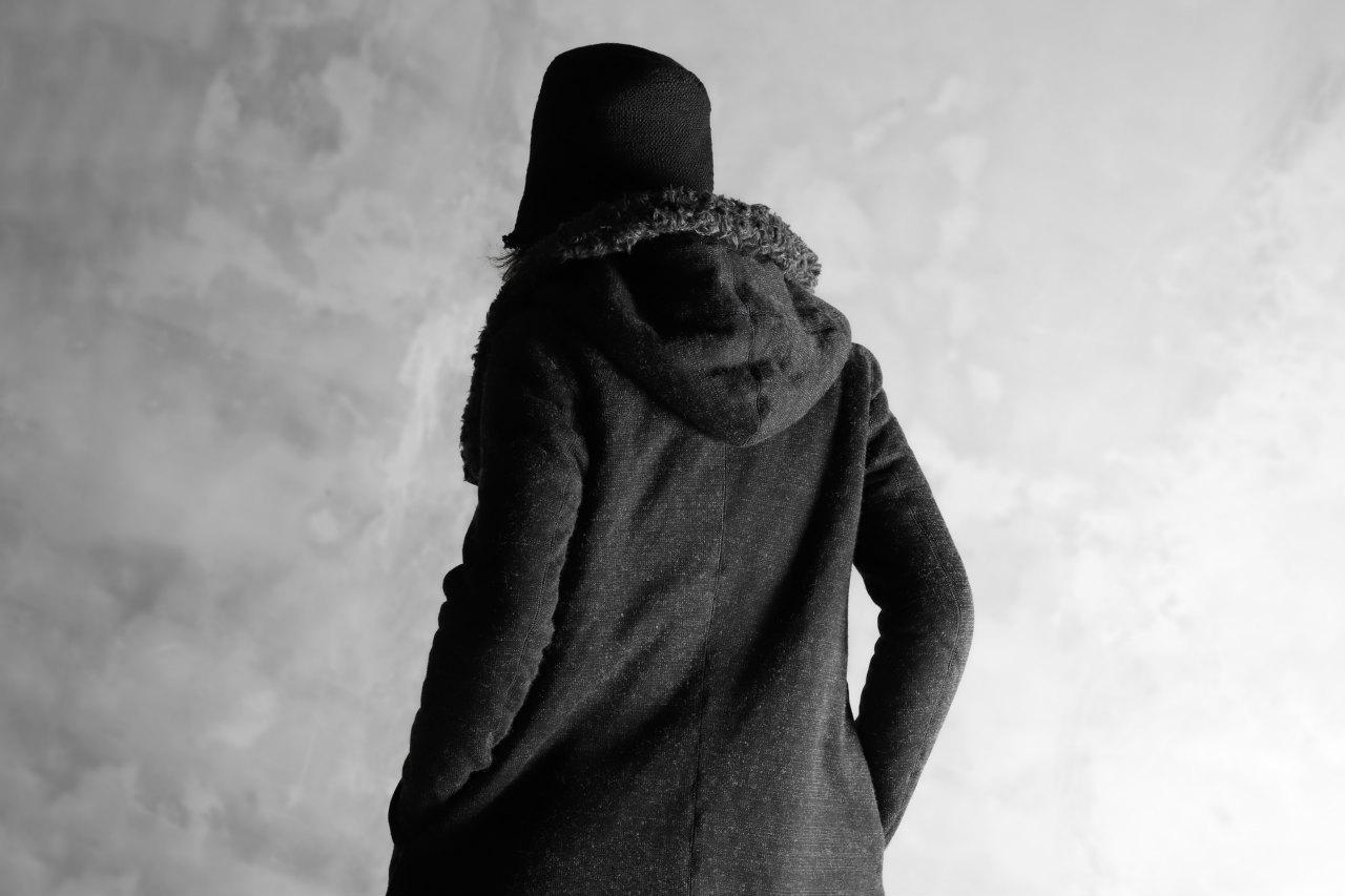 nude:masahiko maruyama LONG PARKA COAT / WOOL COTTON BORE