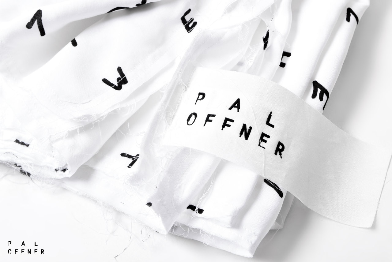 PAL OFFNER POPELINE STOLE / (INITIAL PRINT)