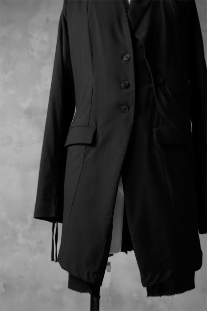 PAL OFFNER DECONSTRUCTED PINGU JACKET / STRETCH TWILL