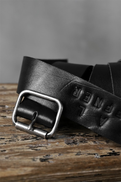 PAL OFFNER CALF LEATHER EASY BELT