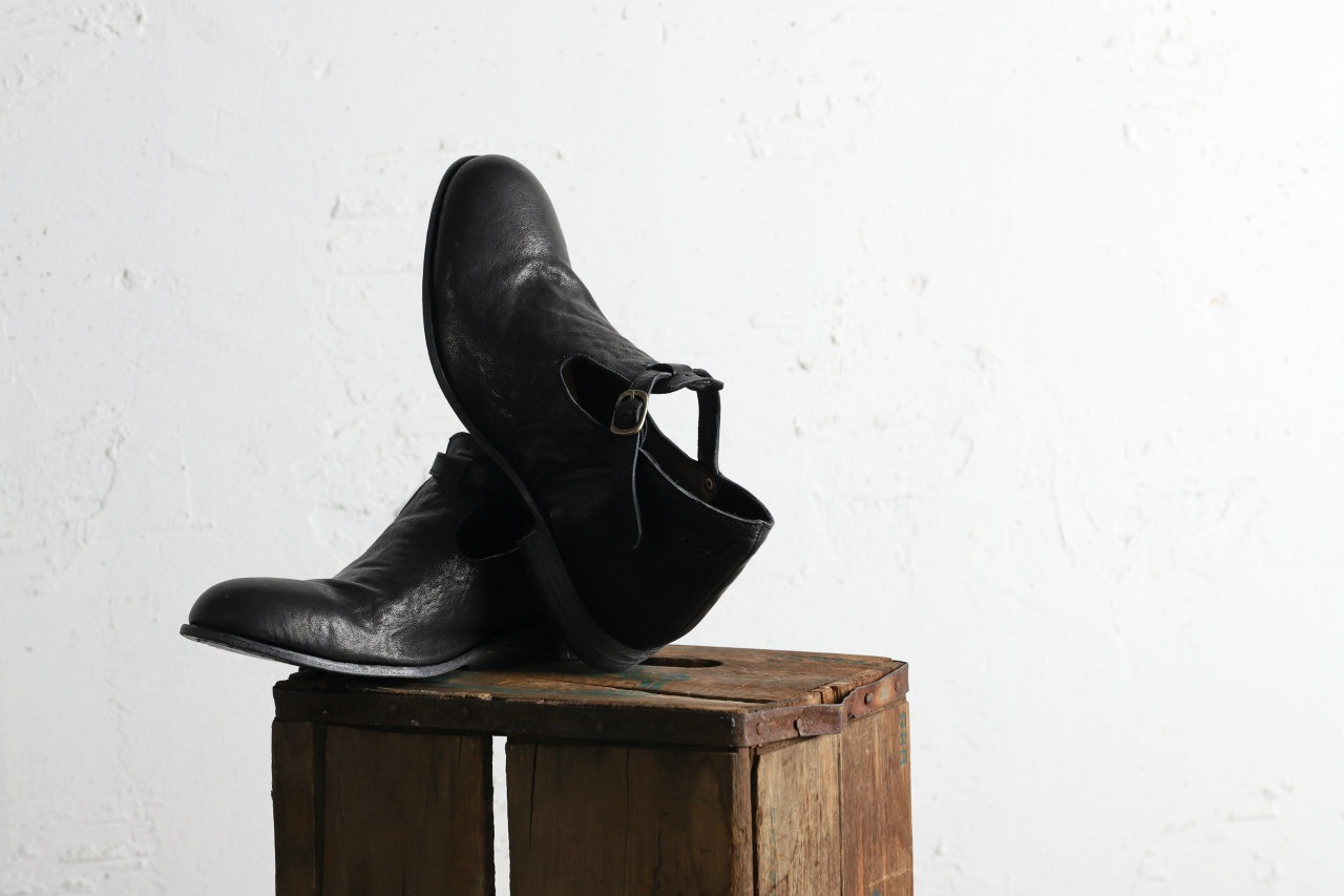 Portaille one make Strap Shoes (Heat Shrink Horse Leather)