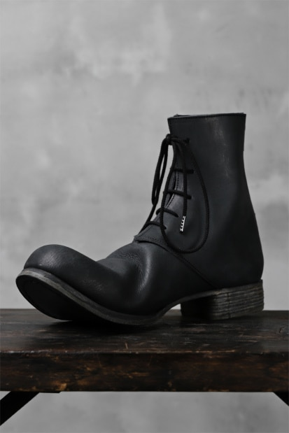 Portaille exclusive PL20 Laced Zip Boots (FILED STEER)