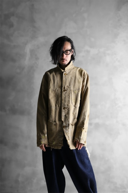 RESURRECTION HANDMADE vintage remake engineer jacket