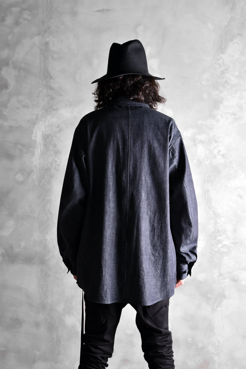 Rhythmor  CHINA SHIRT JACKET / BLACK WATCH PATERN