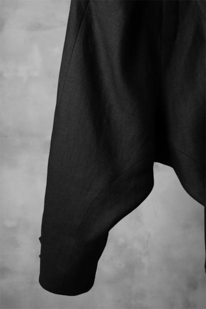 SOSNOVSKA exclusive CLOWN STYLE LINEN PANTS