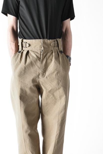 sus-sous gurkha trousers yarn dyed OX