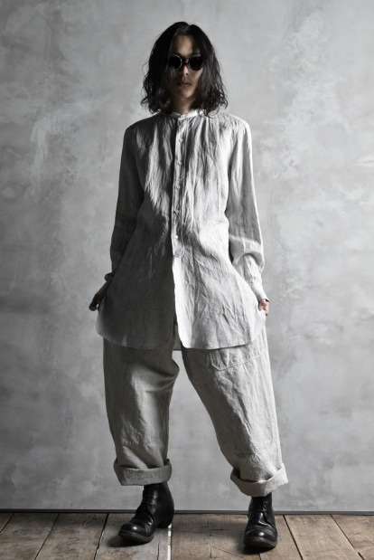 sus-sous natural wide trousers MK-1 with oyagi