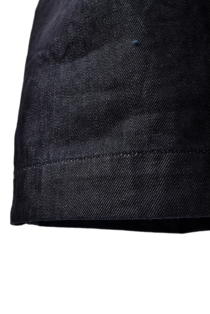 SUS-SOUS indigo denim wide trousers MK-1