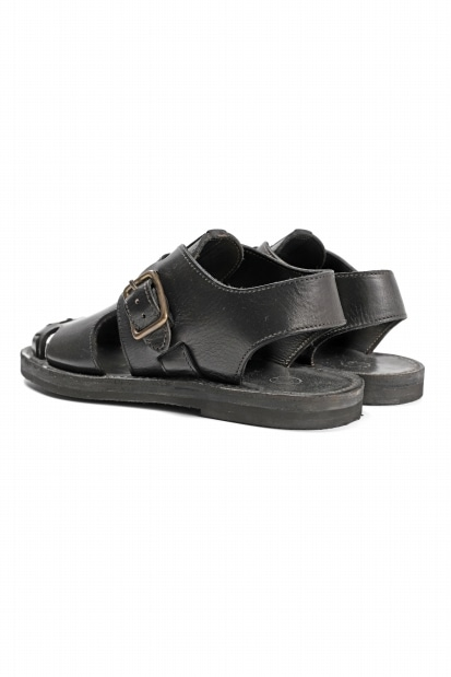sus-sous sandal shoes / italy oiled cow leather (hand dyed)
