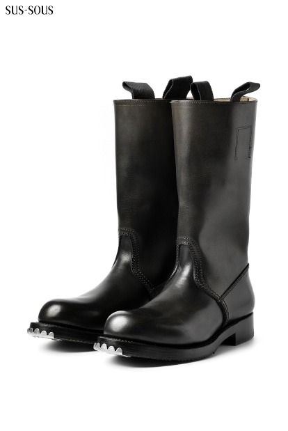 sus-sous jack boots / tempesti oiled leather