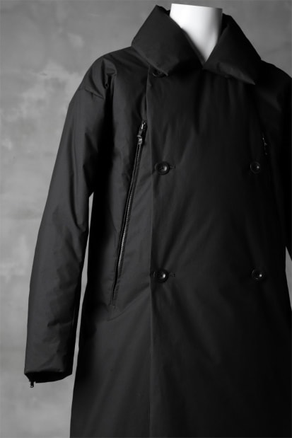 The Viridi-anne DOWN FEATHER COAT / WATER-REPELLENT & COATING URETHANE