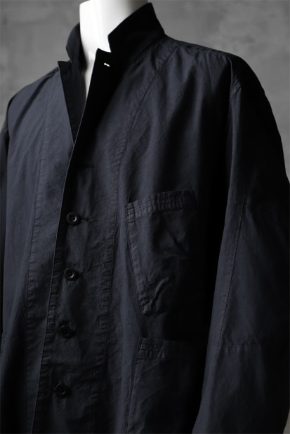 The Viridi-anne RELAXIE FIT JACKET / GARMENT DYED