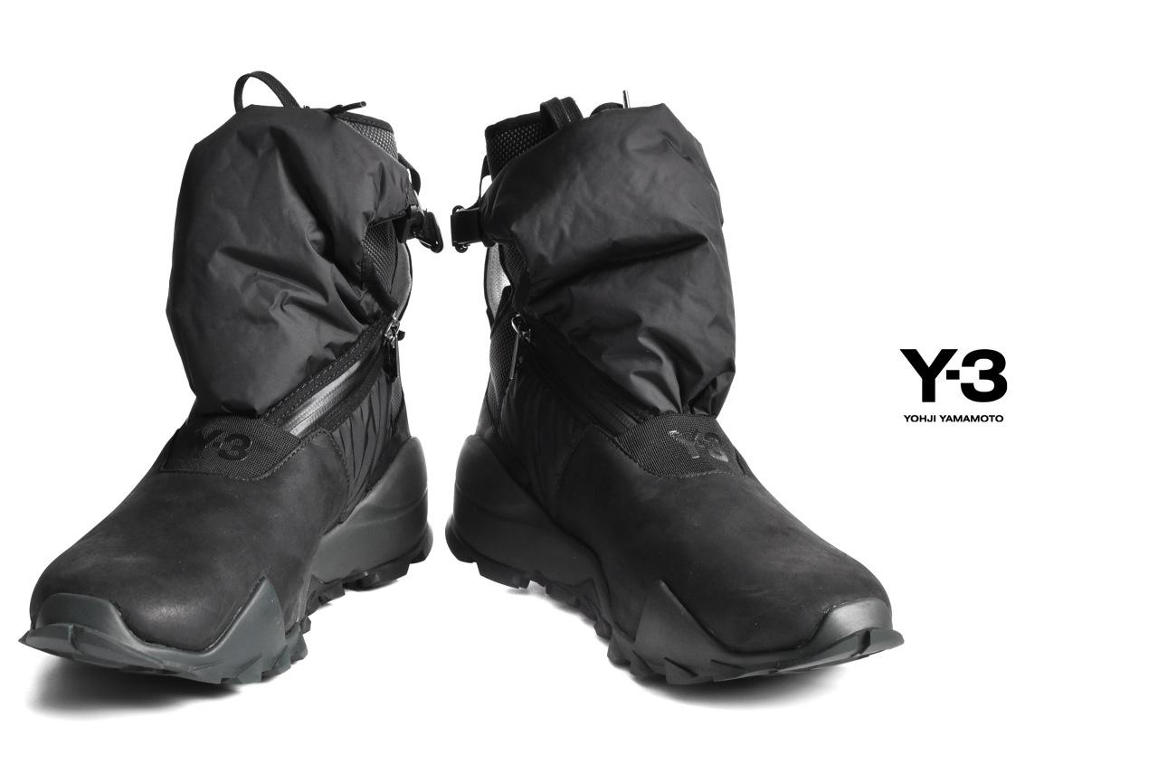 Y-3 yohji yamamoto RYO HIGH TOP SNEAKERS