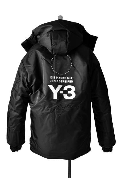 Y-3 Yohji Yamamoto  REVERSIVLE PADDED JACKET