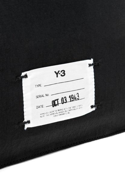 Y-3 YOHJI YAMAMOTO ADIDAS 2019SS LOGO POUCH