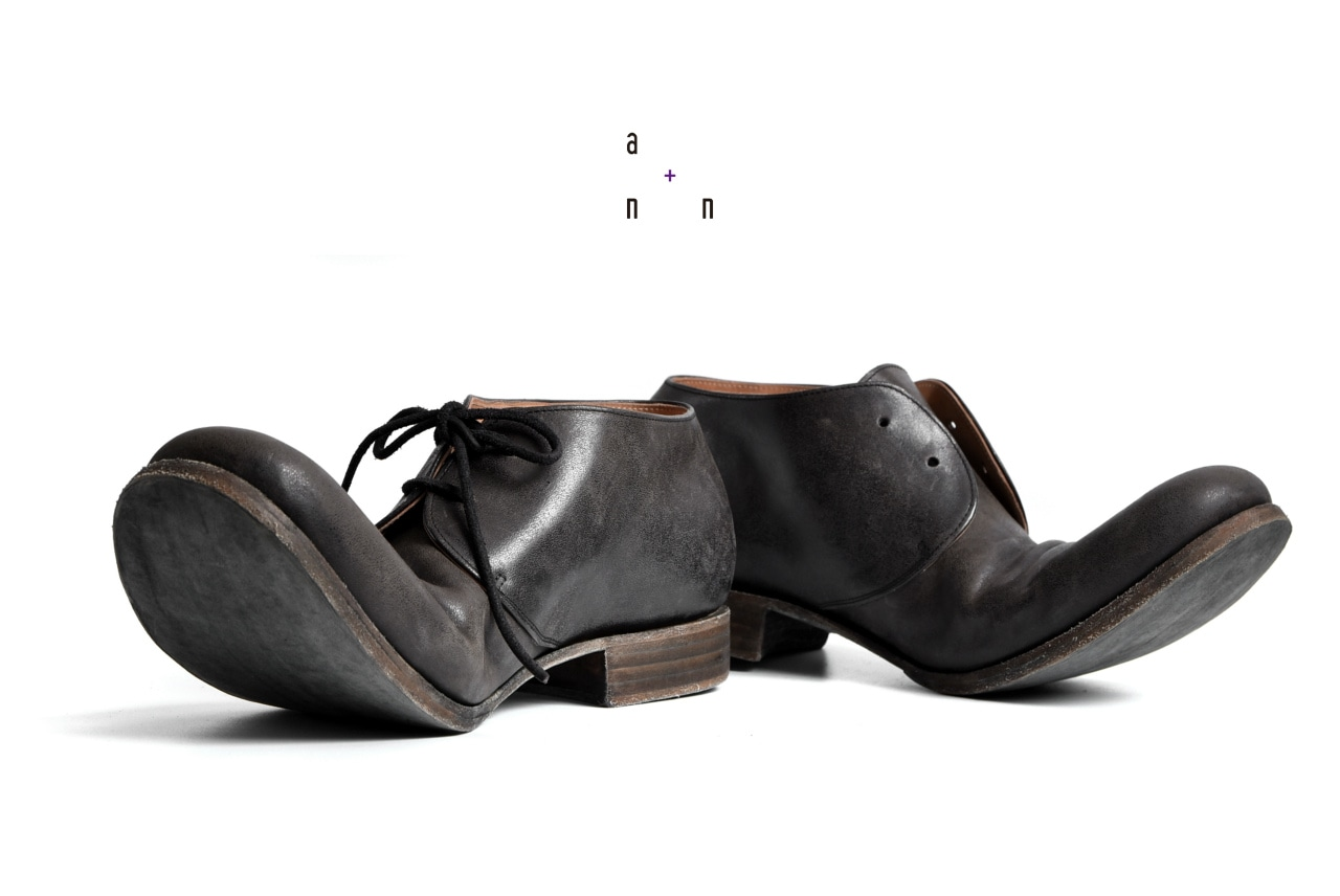 an.plus.n Custom Order 2 HOLE DERBY SHOES S2