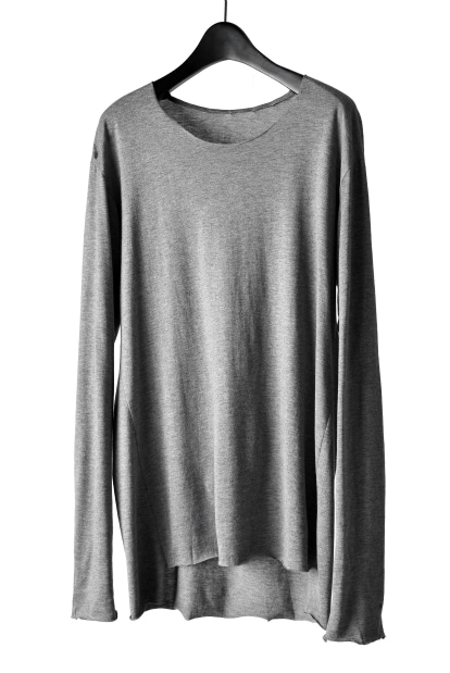 blackcrow long sleeve t-shirt (cotton silk l.jersey)