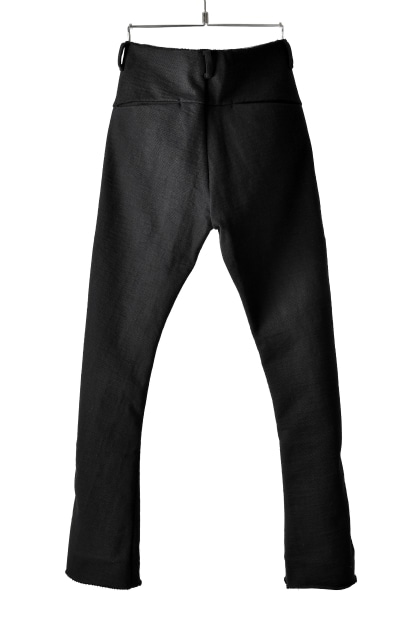 blackcrow straight pants (heavy jersey)