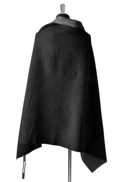 blackcrow reversible blanket (cashmere cotton needle-punch)