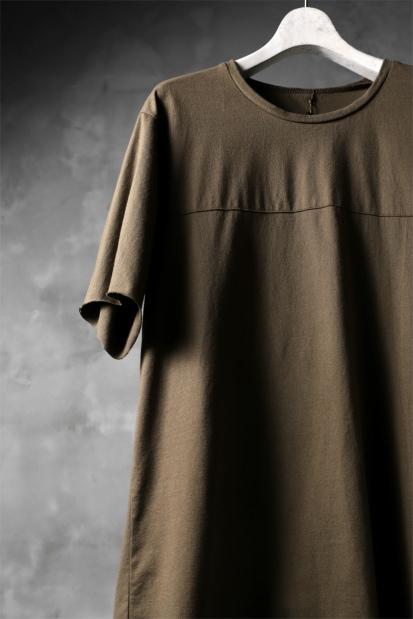 blackcrow short sleeve cutsewn / GIZA cotton light jersey