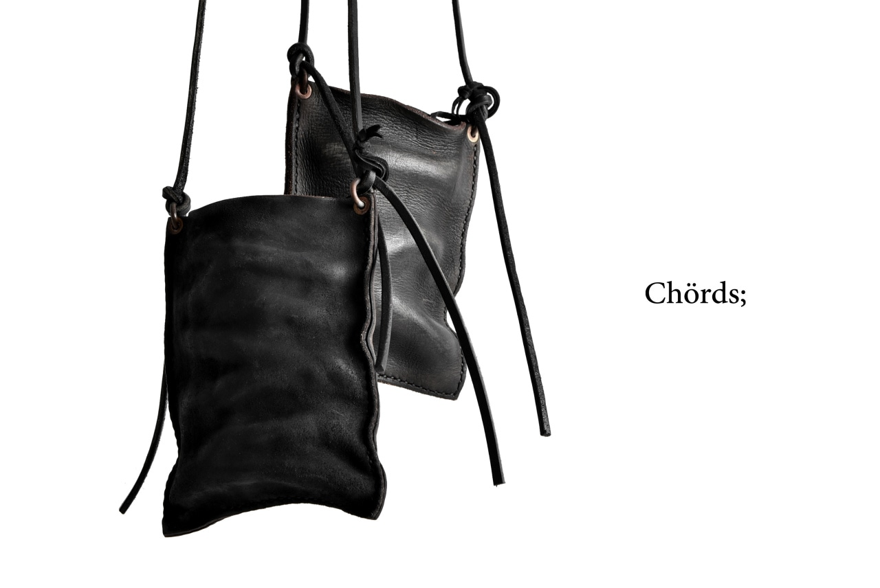 Chörds; S.P.HORDER / HORSE BUTT LEATHER REVERSED