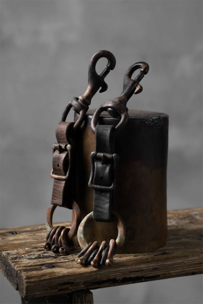 Chörds; T.1. KEY RING / HORSE BUTT LEATHER