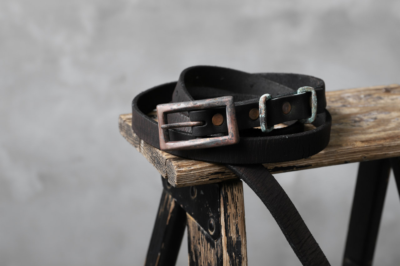 Chörds; D.A.L. LEATHER BELT / ITALY COW SHOULDER