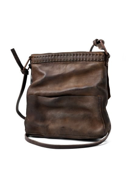 Chörds; F3. SHOULDER BAG / HORSE BUTT LEATHER REVERSED