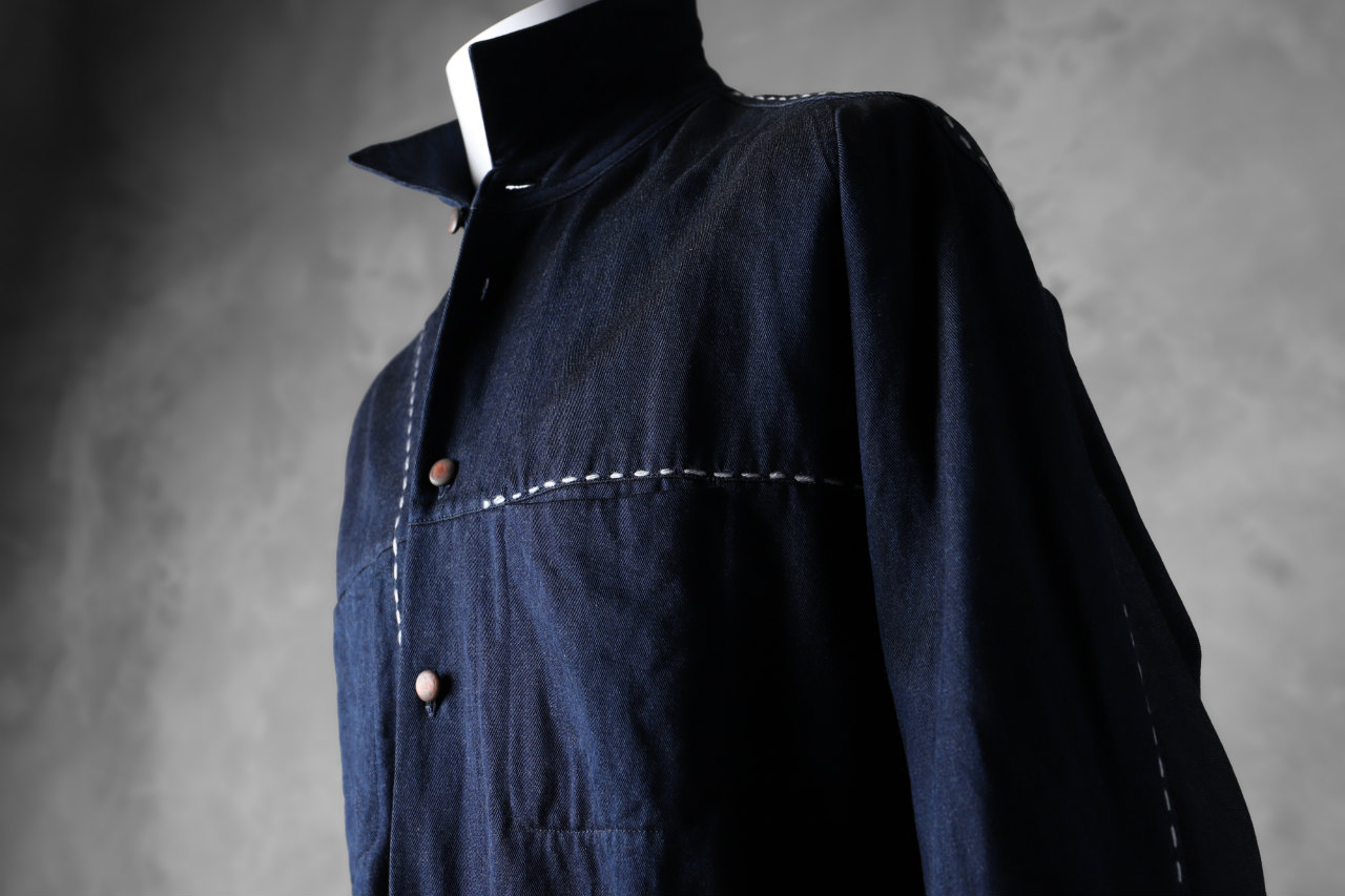 daska NOBLE denim shirt / indigo bi color