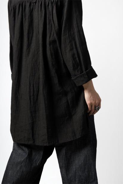 daska vincent painter-smock shirt / light linen