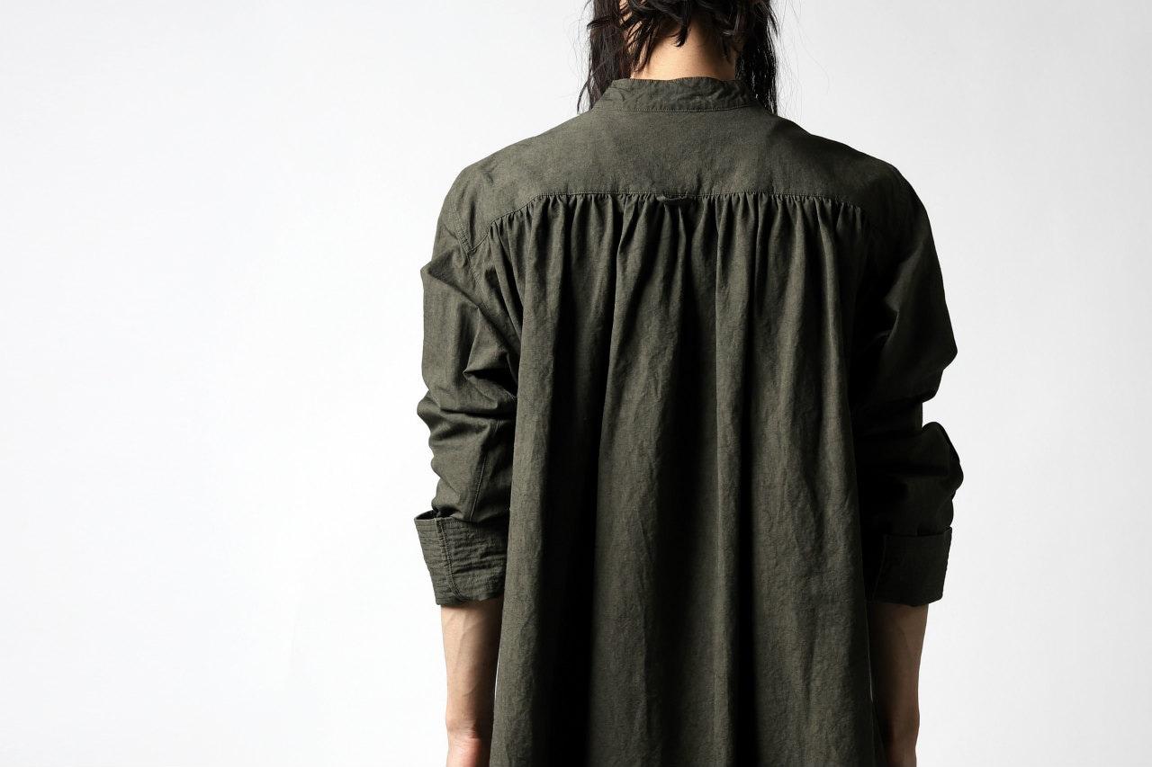 daska x LOOM excluive vincent painter-smock semi-long shirt