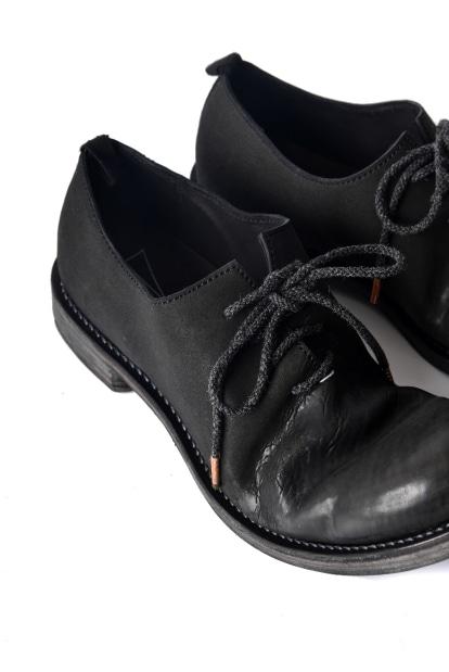 ierib 墨黒染め ホースバット 短靴