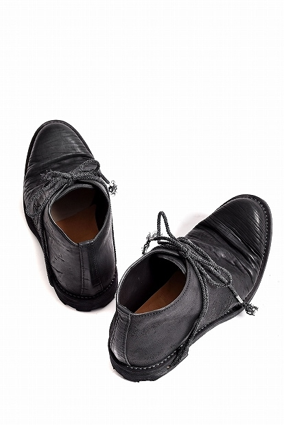 ierib tecta derby shoes / waxy JP culatta BLACK