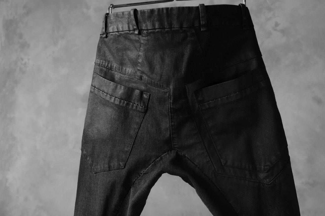 masnada EMBEDDED SLIM PANTS / DENIM ELASTICZZATO