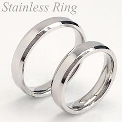 ステンレスリング 指輪 定番 人気シンプルリング