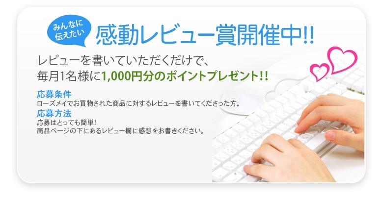 感動レビュー賞開催中!