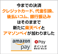 AmazonPayと楽天pay
